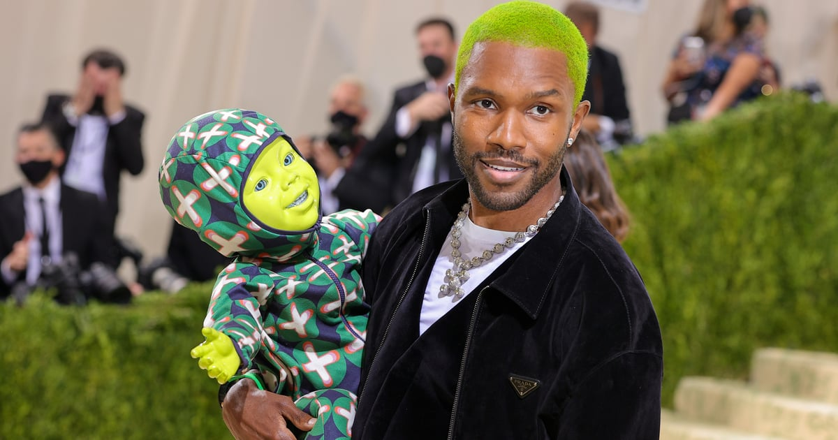 Don't Be Afraid of Frank Ocean's Green Baby at the Met Gala