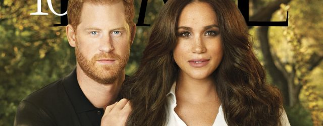 Prince Harry and Meghan Markle Pose For Their First Magazine Cover Together For Time 100