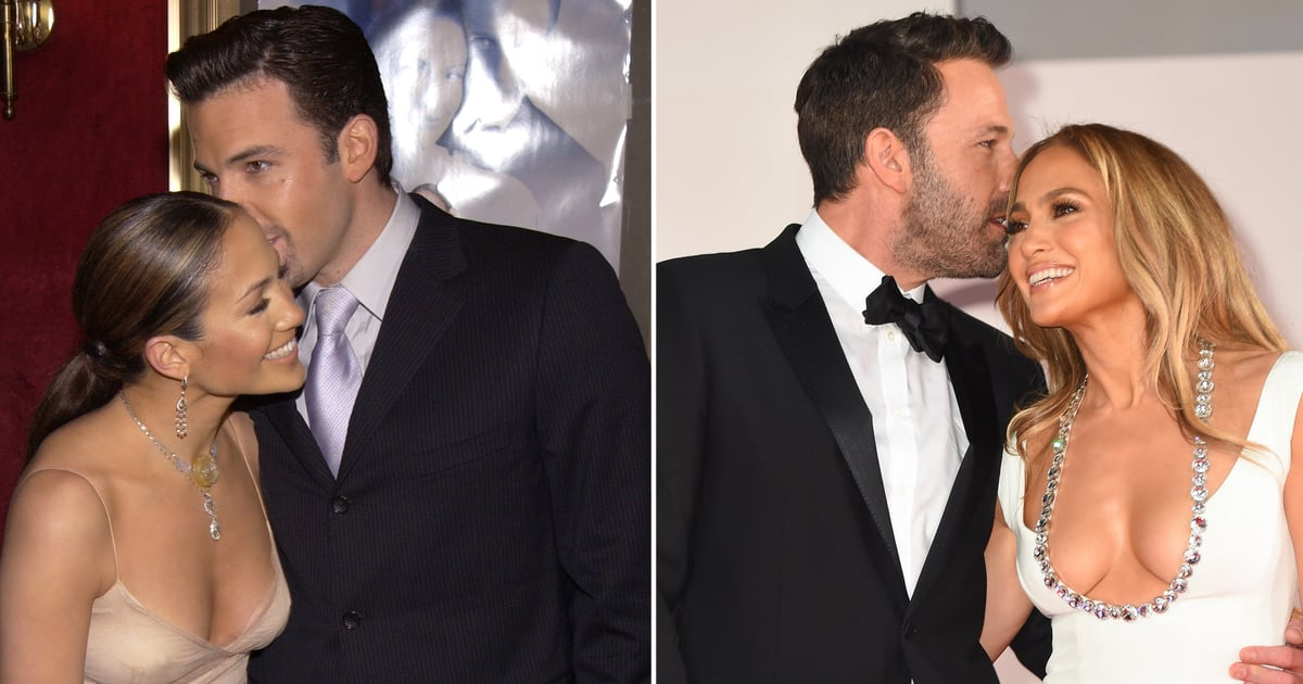See J Lo and Ben Affleck's Recent Red Carpet Debut Side by Side With Their Original One