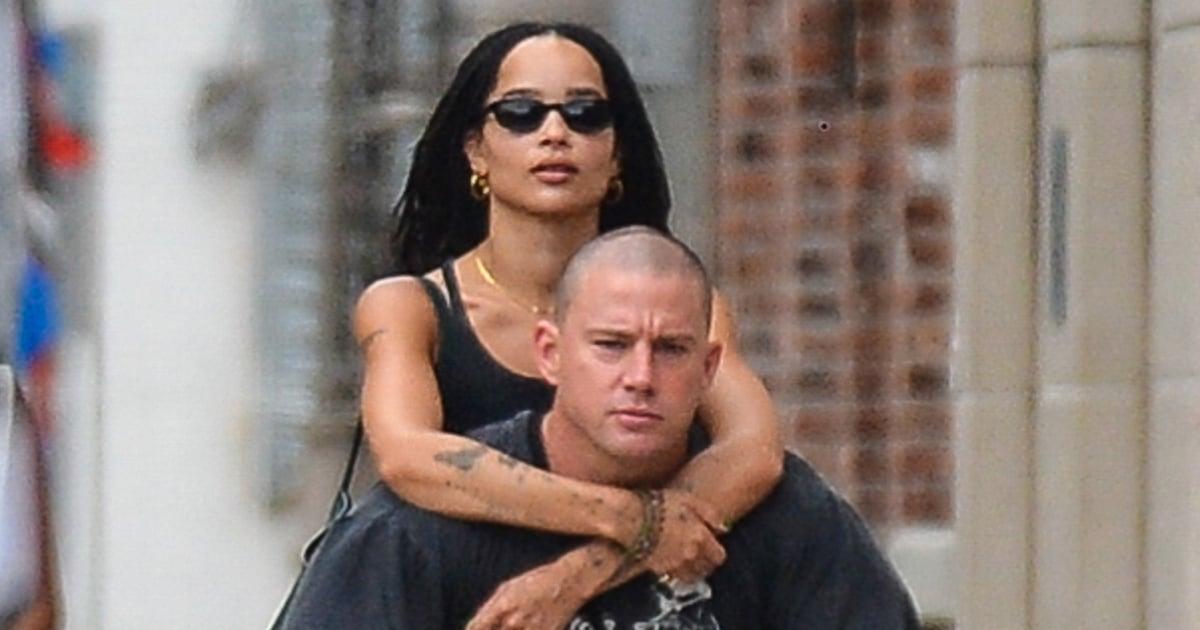 These Zoë Kravitz and Channing Tatum Photos Beg the Question: Are They or Aren't They?