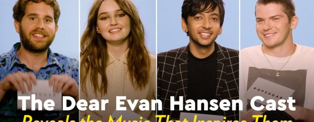 Watch the Cast of Dear Evan Hansen Share Their Most Meaningful Music With Each Other